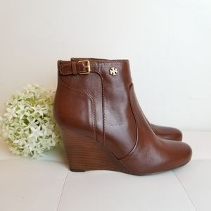 Tory Burch Milan wedge bootie 6 M
